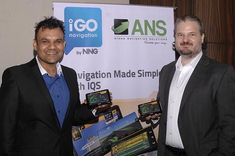 L-R-Amit Sharma, Director-Sales and Business Development (ANS) with Peter Bolesza, Vice President of Eastern Europe and Emerging Markets (NNG LLC)